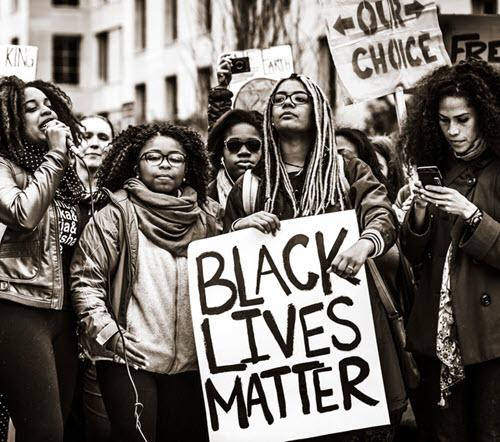 Black Lives Matter Protest.