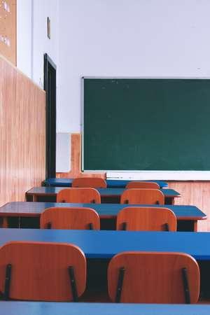 Photo of Empty Class Room